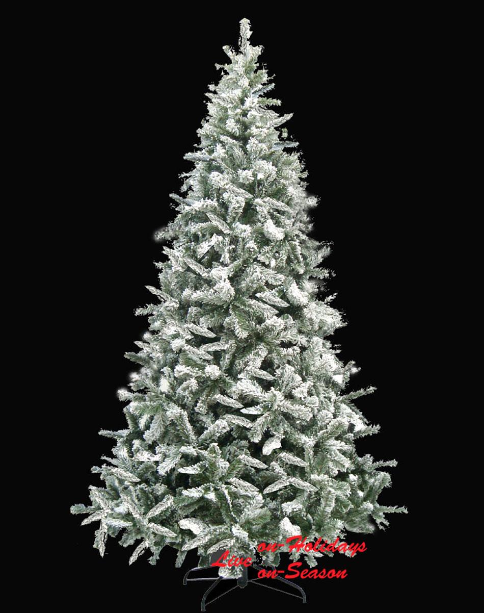 Χριστουγεννιάτικο Δέντρο Flock Tree 240cm 234083   On-Season